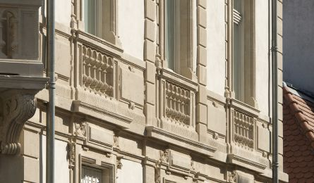 Immeuble d'habitation - Rue de Metz - Nancy