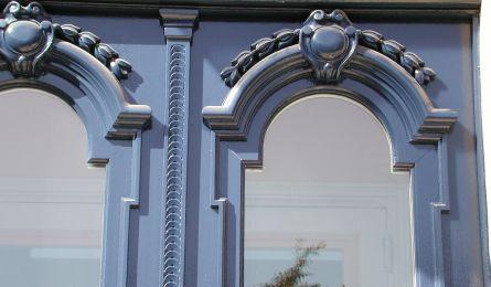 Porte d'entrée rue de Rigny - Nancy