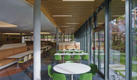 Salle de restaurant - immeuble In/Out - Boulogne-Billancourt
