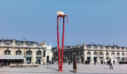 Chaise Prouvé - Place Stanislas - Nancy