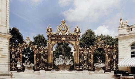 Fontaines place Stanislas - Nancy