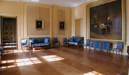 Salon Billard - Château de Craon - Haroué