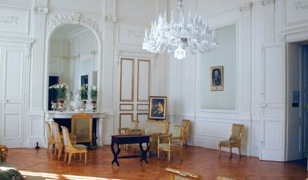 Salon Louis XVIII - château de Craon - Haroué