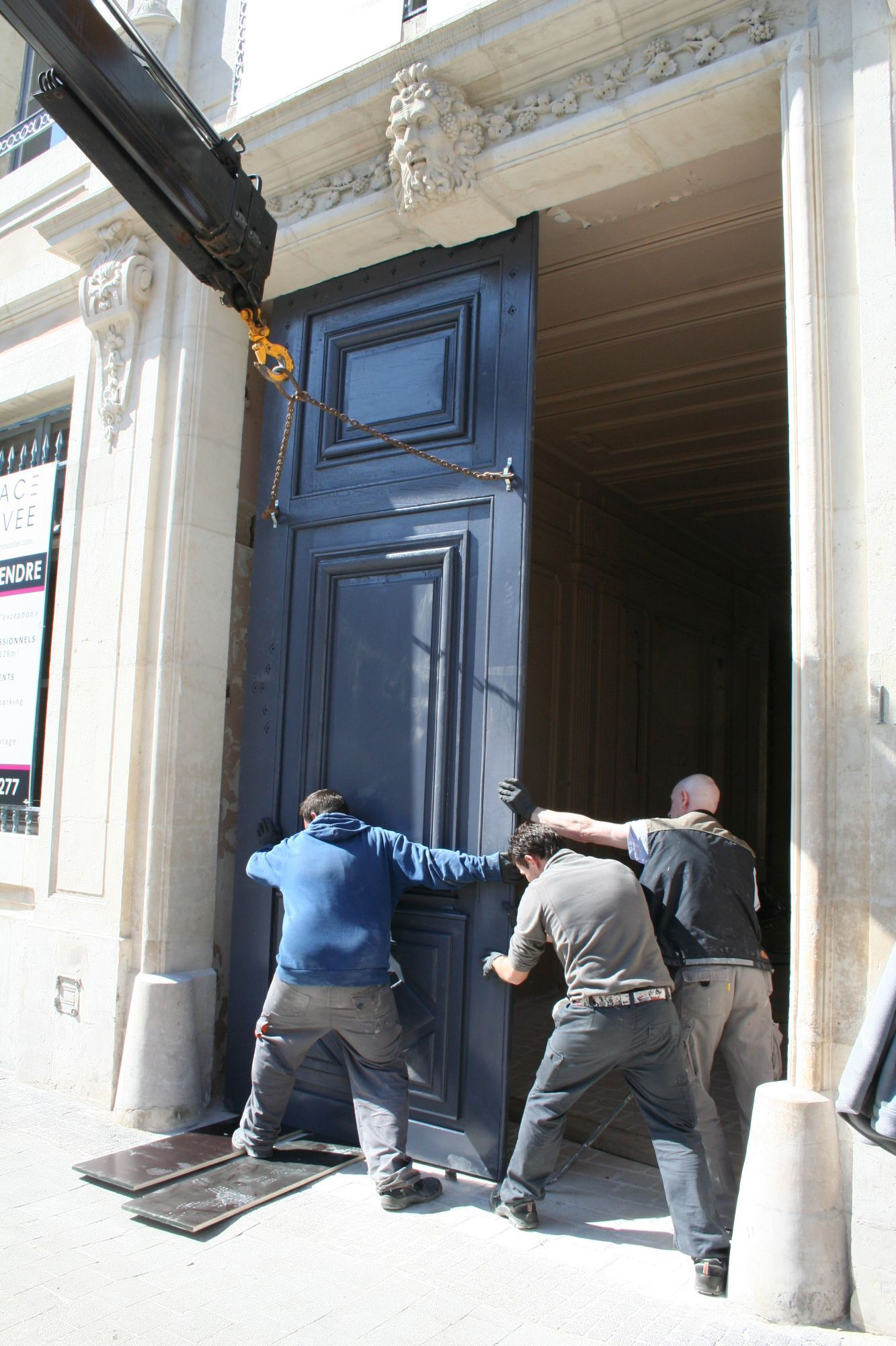 Menuiserie for Pose d une porte