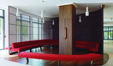 Entrance hall – IN/OUT building – Boulogne-Billancourt